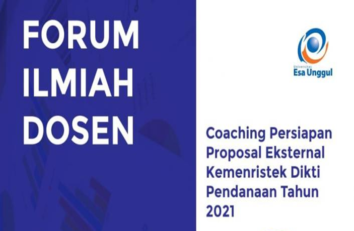 LPPM Universitas Esa Unggul Gelar Coaching Proposal Penelitian Dosen