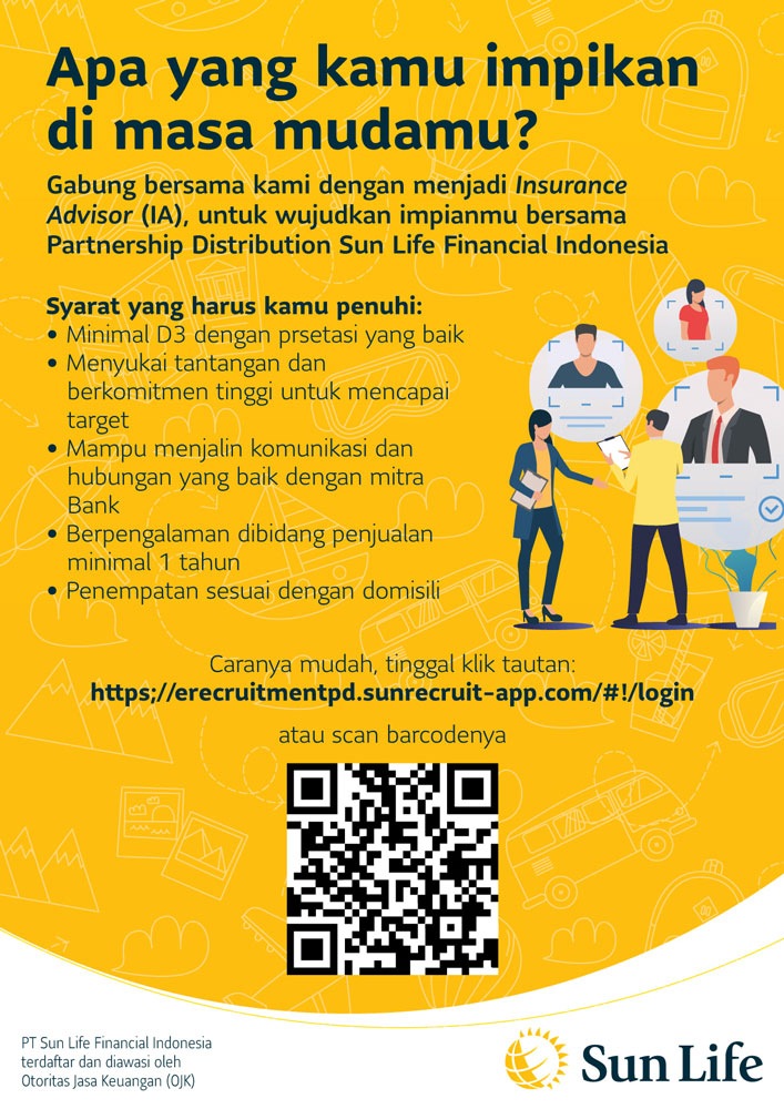 Lowongan Pekerjaan PT Sun Life Financial Indonesia