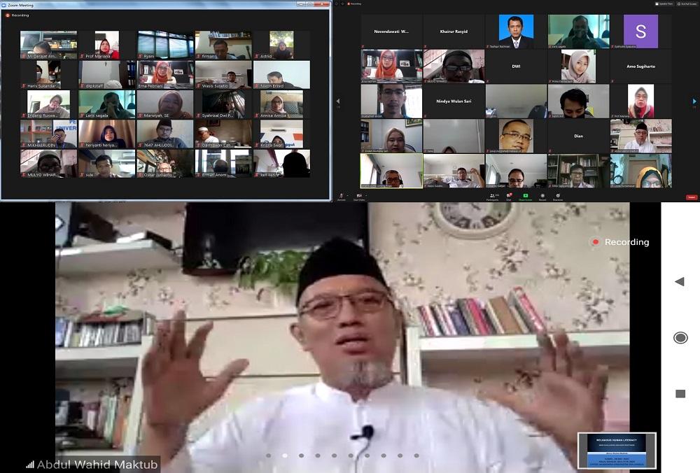 Eratkan Silaturahmi di Tengah Pandemi, Universitas Esa Unggul Gelar Halal Bihalal Virtual