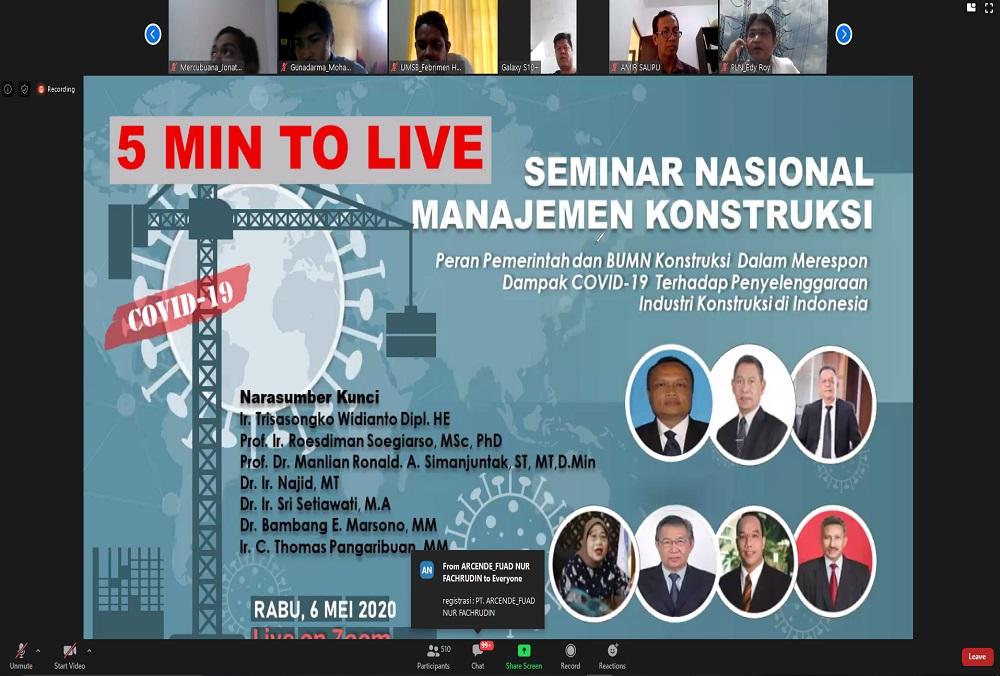 Tantangan Industri Konstruksi di Indonesia saat Pandemi COVID-19