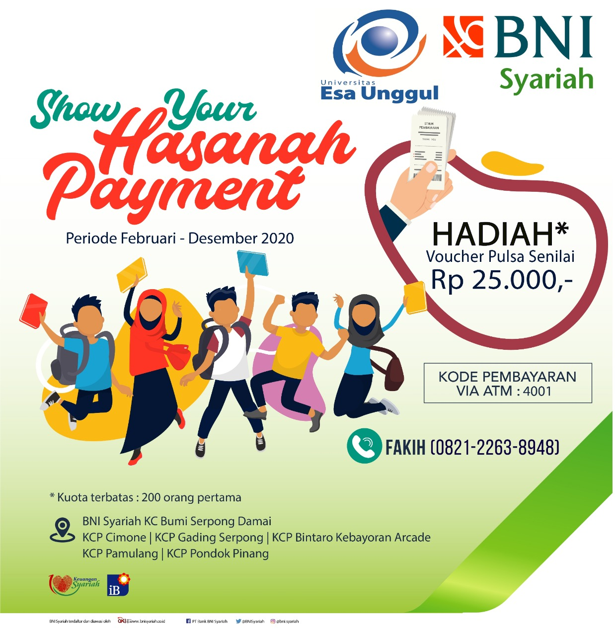 Program Show Your Hasanah Payment