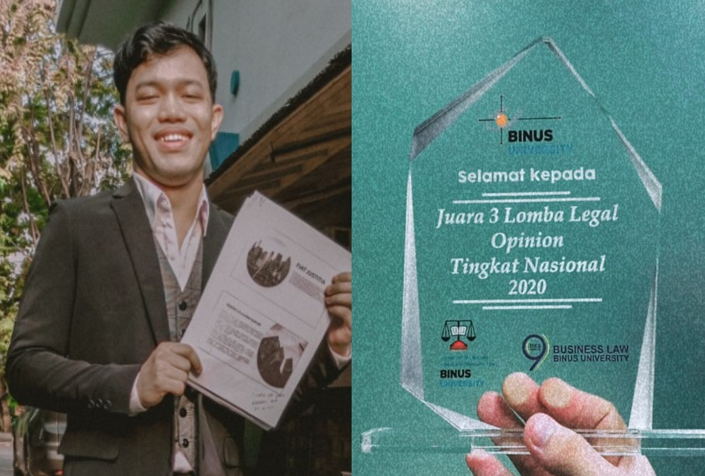 Mahasiswa Fakultas Hukum UEU Raih Juara di ajang Legal Opinion Competition 2020