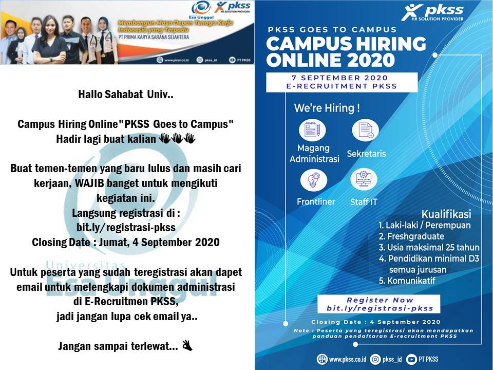 Campus Hiring PKSS