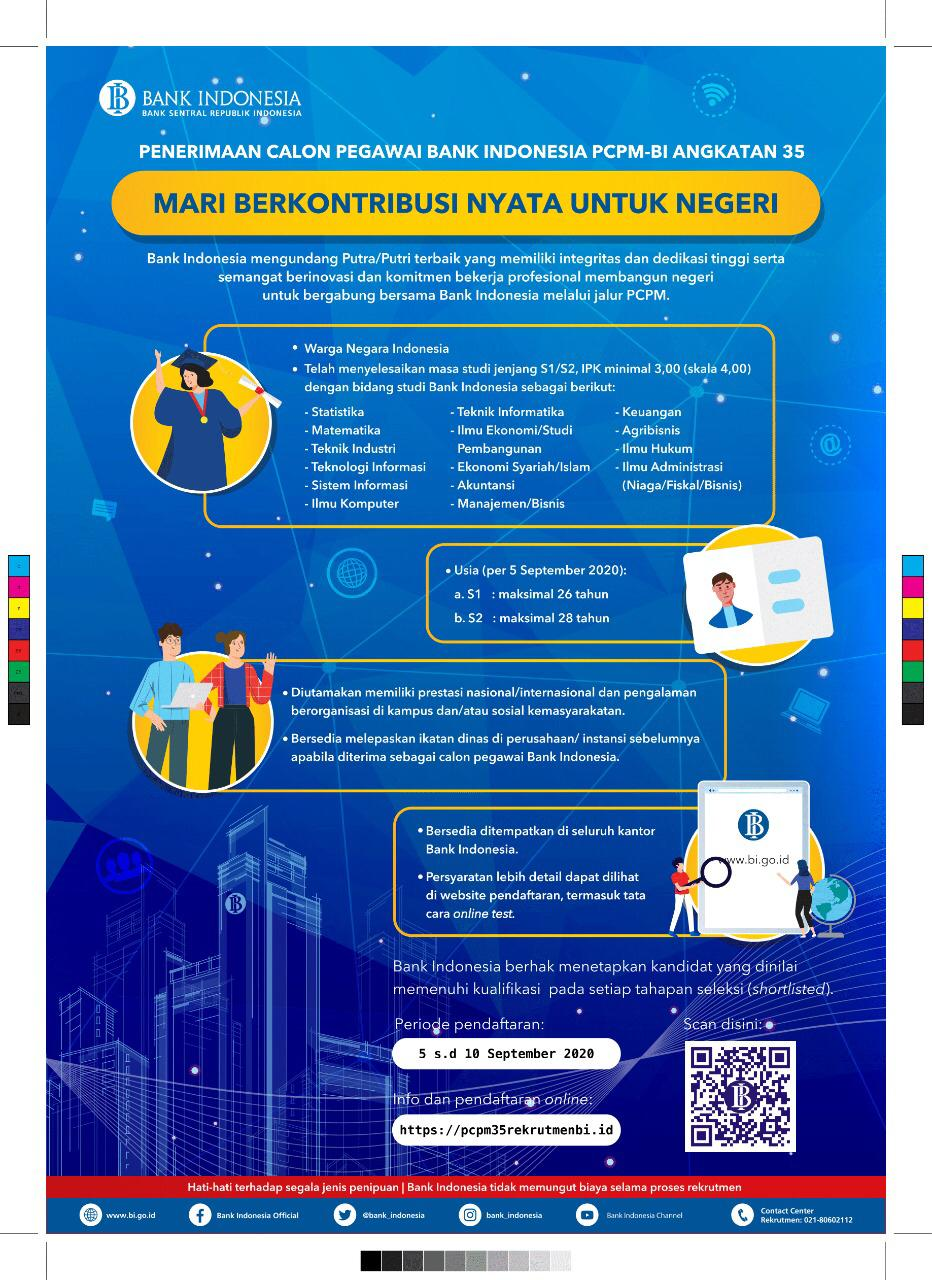 Lowongan Pekerjaan Bank Indonesia