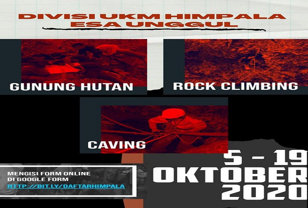 Himpala Universitas Esa Unggul Buka Rekruitmen Anggota Baru
