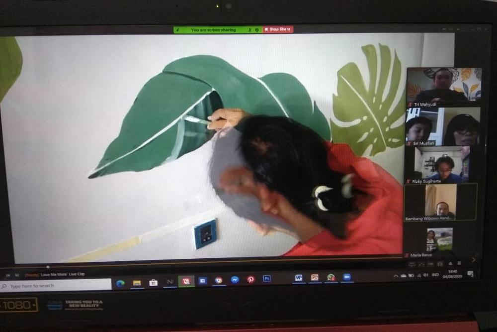 Lewat Art Therapy Tim Dosen Universitas Esa Unggul Bantu Pemulihan Traumatis di Balai Rehabilitasi Sosial Anak Jakarta