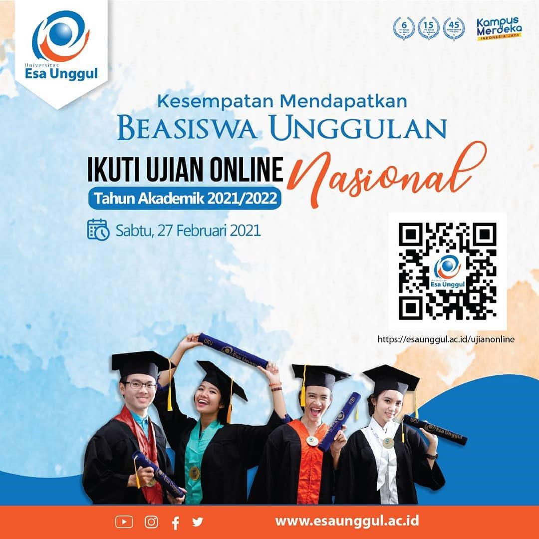 Ujian Online Nasional 27 Februari 2021