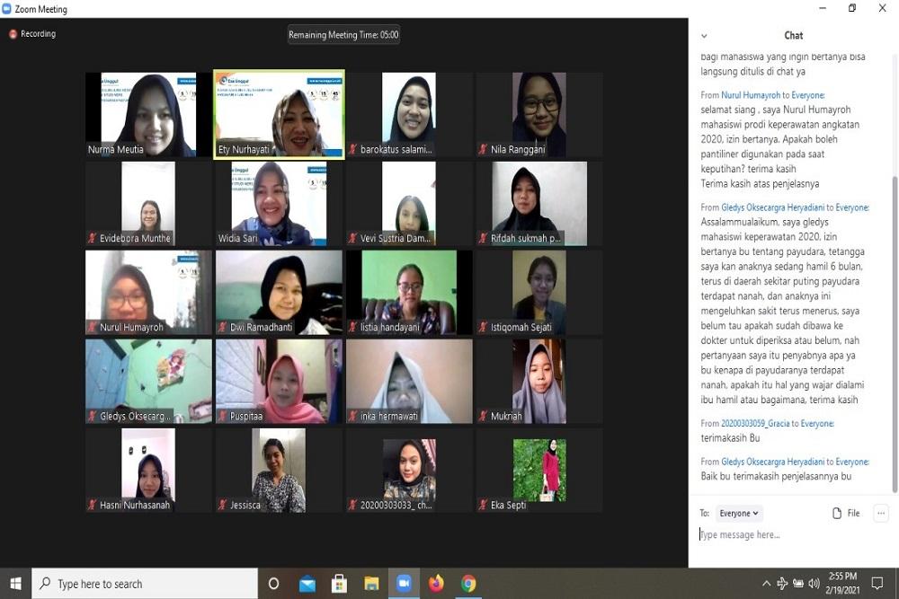 Prodi Keperawatan UEU Gelar Pengabdian Masyarakat Bahas Pencegahan Kanker Payudara Remaja Putri